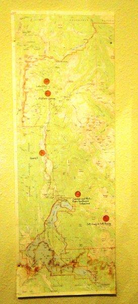 Mining map